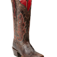 Ariat Cabellera Wingtip Cowgirl Boots - Square Toe - Sheplers
