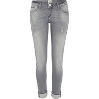 River Island Womens Grey Daisy slim jeans