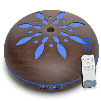 550ml Essential Oil Diffuser & Humidifier for Aromatherapy
