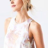 Silence + Noise Angel Tulip-Hem Swing Dress - Urban Outfitters