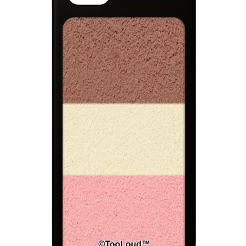 Horizontal Neapolitan Ice Cream iPhone 5 / 5S Grip Case  All Over Print by TooLoud