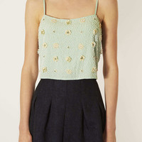 Floral Bead Crop Cami - New In This Week - New In - Topshop USA