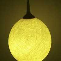 Handmade lamp lamp shade pendant light by FiligreeCreations