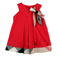 Baby dress birthday party girls dresses brand cotton plaid newborn baby clothing toddler girl clothes fashion casual vestidos