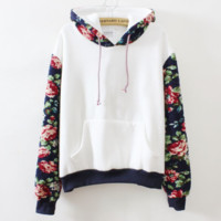 Floral Sweater by KyuMe Shop