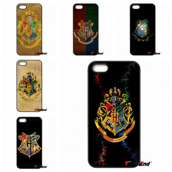For Samsung Galaxy Note 2 3 4 5 S2 S3 S4 S5 MINI S6 Active S7 edge Harry Potter Hogwarts Badge cell phone case cover