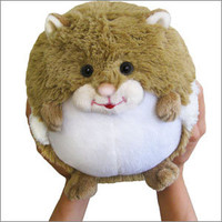 Mini Squishable Hamster: An Adorable Fuzzy Plush to Snurfle and Squeeze!