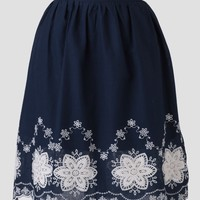 Antique Shop Embroidered Skirt | Ruche