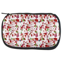 DCCKIS3 Halloween Zombie Elements Pattern Makeup Bag