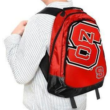 NCAA North Carolina State Wolfpack Backpack Bag School Laptop Computer Tote Case