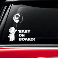 Baby On Board Darth Vader Star Wars Car Decal Sticker Window Truck Vinyl Decor baby on board decal baby on board sticker