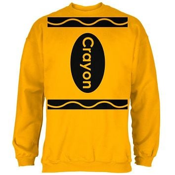 Halloween Crayon Costume Mens Sweatshirt