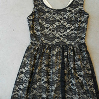 City Lace Dress [6033] - $36.00 : Feminine, Bohemian, & Vintage Inspired Clothing at Affordable Prices, deloom