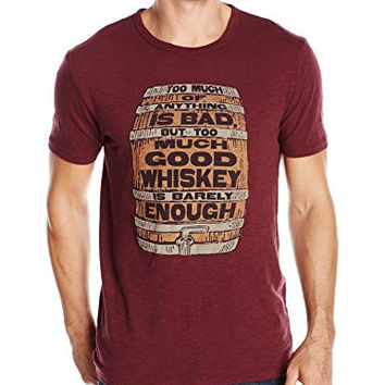 Lucky Brand Men's Whiskey Barrel Graphic Tee