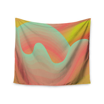 "Akwaflorell ""Way of the Waves"" Wall Tapestry"