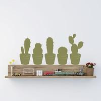 Cactus Set Wall Decal