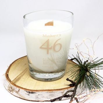 Maker's Mark 46 Whiskey Candle