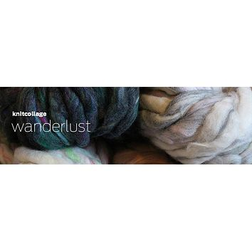 Knit Collage - Wanderlust Blanket Kit