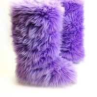 Fluffy Wuffies (outdoor boots/booties)