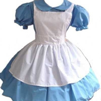 Alice in Wonderland dress and Apron Halloween Costume