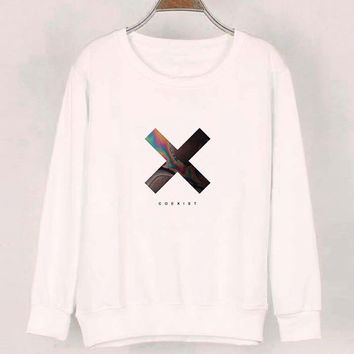 xx coexist sweater White Sweatshirt Crewneck Men or Women for Unisex Size with variant colour
