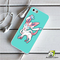 Pokemon X Y Sylveon  Eevee Evolution iPhone 5|5S Case by Avallen