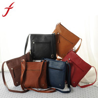 Feitong New Fashion Designers Womens PU Leather Satchel Crossbody Shoulder Messenger Bag Handbag Bolsas Femininas Free Shipping