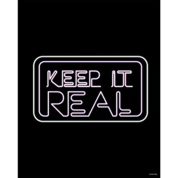 Keep It Real Neon Print