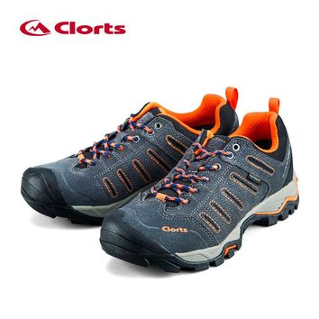 Clorts Mens Hiking Shoes Uneebtex Waterproof Hiking Boots Rubber Outdoor Shoes  Mountains Shoes for Men 62706