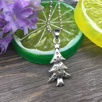 Christmas Tree Fashion Necklace