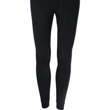 Thermal Fleece Leggings in Black