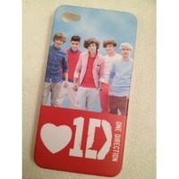 Love 1D One Direction iPhone 4S Case New All Band Members Case