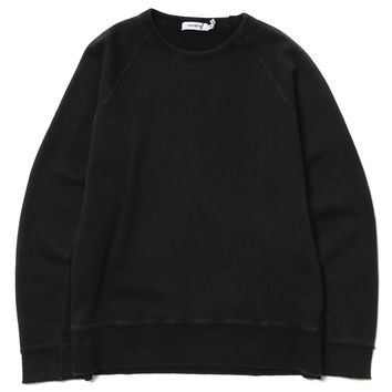 Dweller Crew LS - Cotton Sweat Overdyed