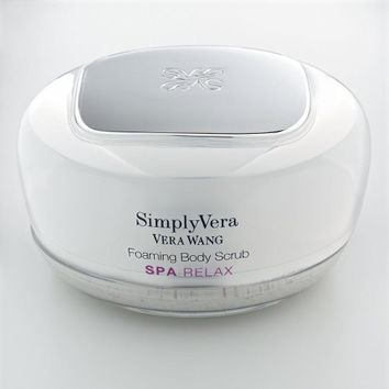 Simply Vera Vera Wang Spa Freesia Blossom & Lavender Foaming Body Scrub 5.3 Oz