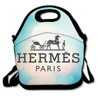 Bekey Unisex Hermes Hipster Lunch Tote Bag Lunch Box For Women Adults Kids Girls For Travel School Picnic Grocery Bags