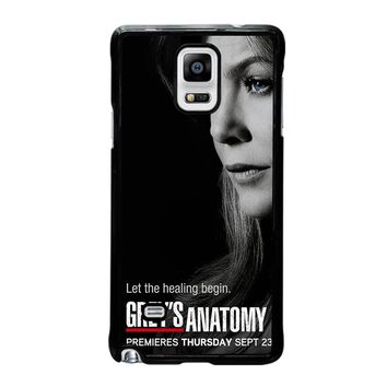 GREY'S ANATOMY MEREDITH Samsung Galaxy Note 4 Case Cover