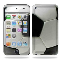 Protective Vinyl Skin Decal for iPod Touch 4G 4th Generation - Soccer