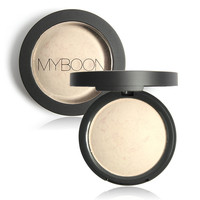 MYBOON Baked Powder Matte Concealer Cover Face Powder Velvet and Fine Powder Foundation