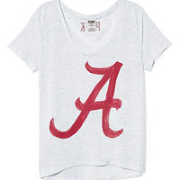 University of Alabama Scoopneck Tee - PINK - Victoria's Secret