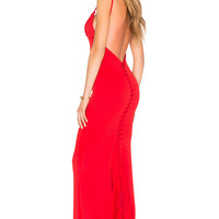 Gemeli Power Carmesi Gown in Red | REVOLVE