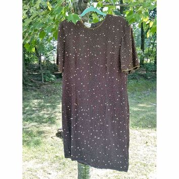 Women's Vintage Cocktail Dress by Stenay