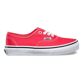 Vans (K) Authentic Cayenne/Wht
