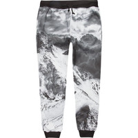 Elwood Alpine Boys Jogger Pants Black/White  In Sizes
