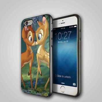Bambi disney iPhone 4/4S, 5/5S, 5C Series Hard Plastic Case