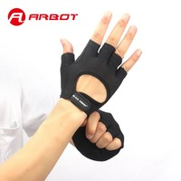 Sports Fitness Glove for Women Men Bodybuilding Weight Lifting Excise Gloves Hollow Breathable Anti Slip Gym Fingerless Glove