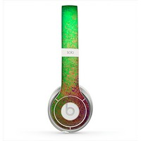 The Vivid Neon Colored Texture Skin for the Beats by Dre Solo 2 Headphones