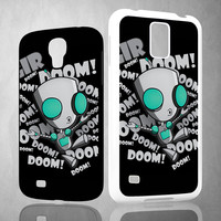 invader zim gir doom song Z0621 Samsung Galaxy S3 S4 S5 (Mini) S6 S6 Edge,Note 2 3 4, HTC One S X M7 M8 M9 Cases