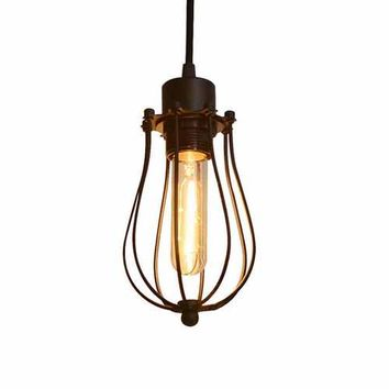 Pendant Cage Light - Industrial - Steampunk