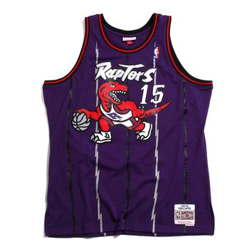 Vince Carter Toronto Raptors Swingman Basketball Jersey Purple