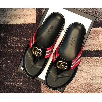 GUCCI 2019 New slippers-5